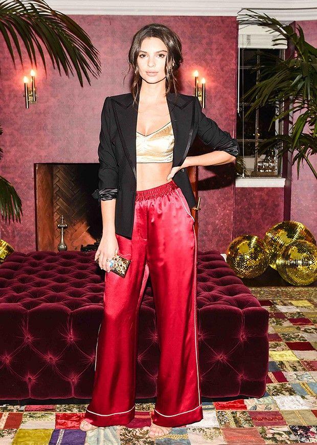 Emily Ratajkowski in Dolce & Gabbana