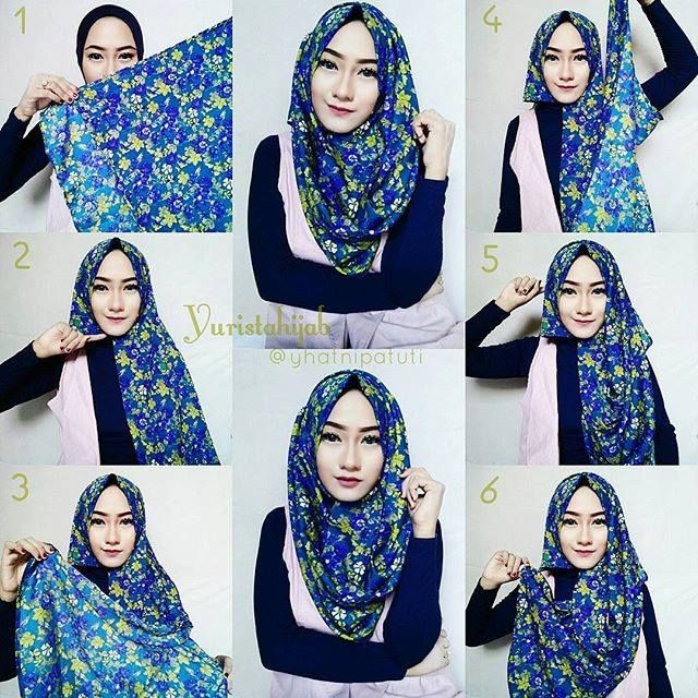 This is a beautiful hijab, the prints are so into the season, can you just imagine how many colors option you get when you wear a printed hijab? you can pair it with many outfits and make the most of…