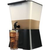 3 Gallon Beverage Dispenser- such a good idea for a mixed drinks bar!! Or, iced tea...