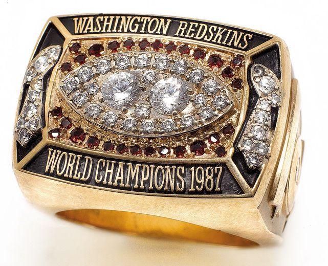 Super Bowl XXII, Washington Redskins Championship Ring.