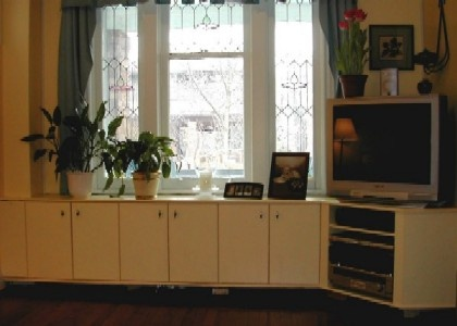 16 best images about cabinet curiousities on pinterest for Window under kitchen cabinets