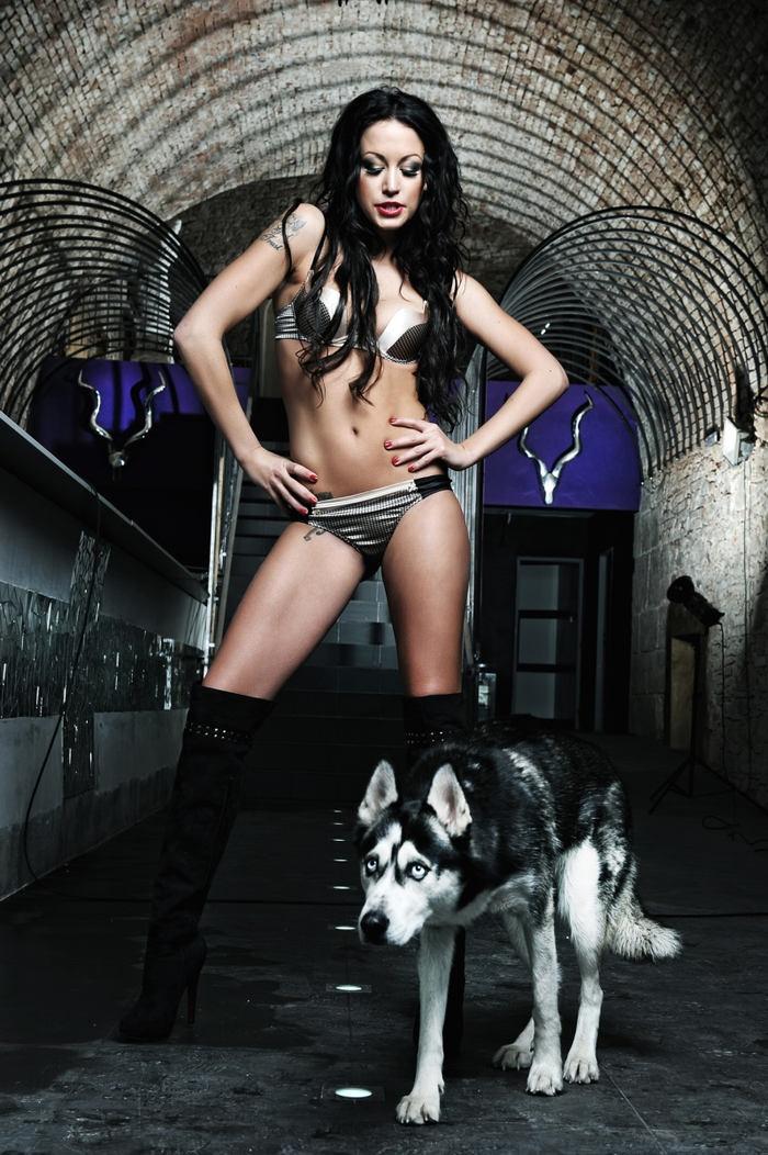 Agáta Hanychová - Playboy