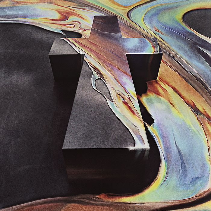 Artwork for WOMAN, the 3rd album of the french band Justice. Image manipulation by Adrien Blanchat @ the ABC. Master print by Jérémie Beylard @ Agence Phar.