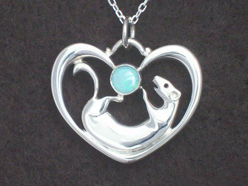 Want the ferret necklace w/ the Moonstone option