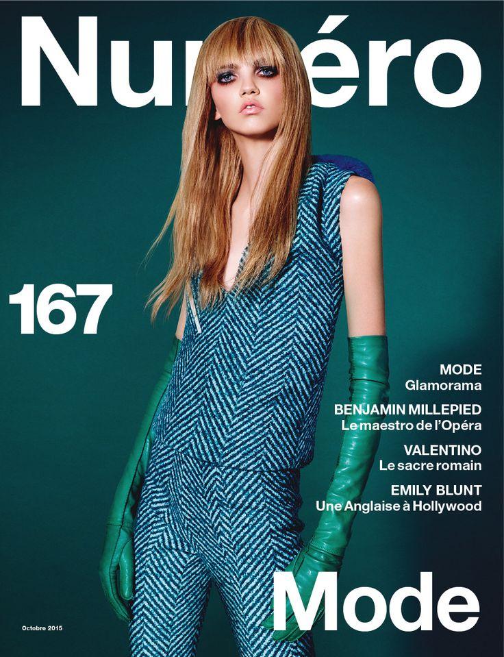 Cover story : Molly Bair photographiée par Daniel Sannwald | Numéro Magazine
