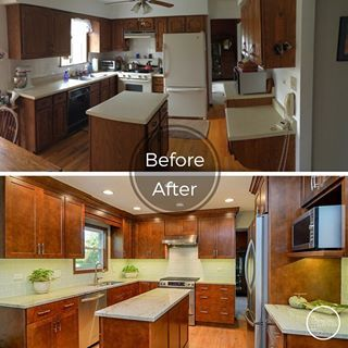 Pictures Of Remodeled Kitchens Before And Afters before and after kitchen renovations amazing before and after