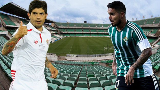 Tras más de un año sin el gran clásico del fútbol andaluz, el Betis de Juan Vargas y Sevilla estrenarán mañana (2:30 pm. / DirecTV 610)  un mes lleno de partidos de máxima rivalidad con la nueva cita de la Liga BBVA.Dic 19, 2015