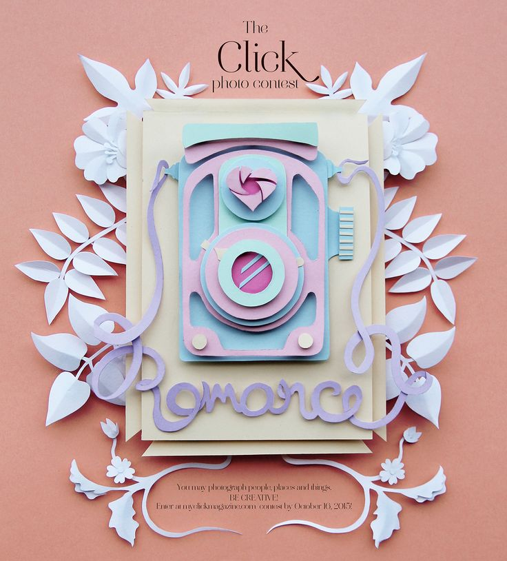 This is a paper illustration I did for Click Magazine, a photography magazine…