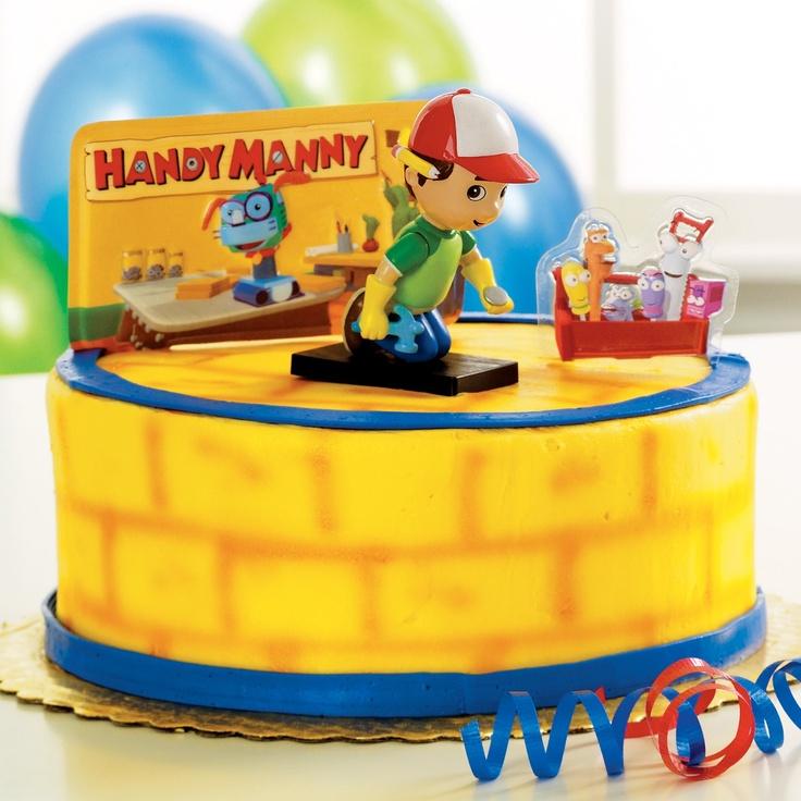 handy many cake Handy manny cake, Handy manny, Handy