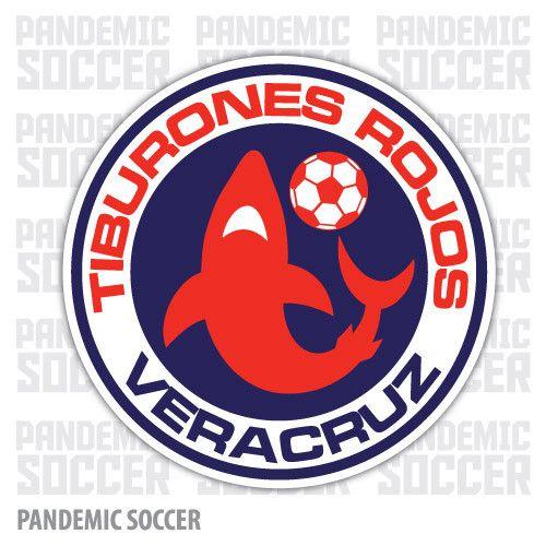 Tiburones Veracruz Mexico Vinyl Sticker Decal Calcomania