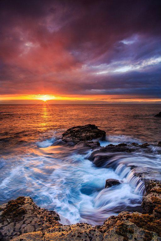 Kona sunset #Hawaii