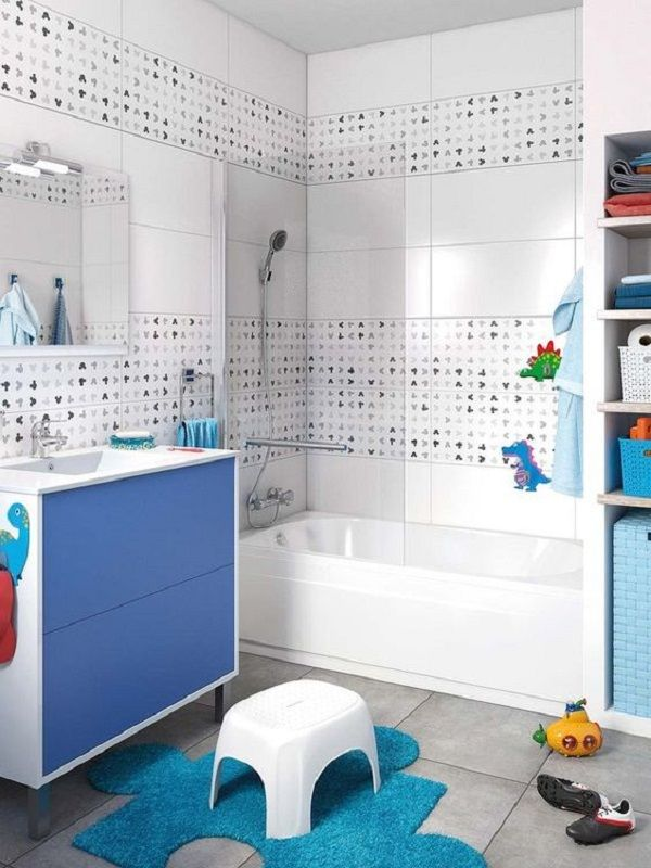 BAÑOS INFANTILES: Consejos para crear espacios alegres, funcionales y seguros. #Bañosinfantiles #bañoscreativos #bañoscoloridos #childrenbathroom #accesoriosbaños
