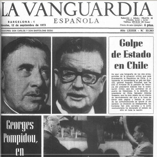 La Vanguardia (España) - 12 de septiembre de 1973.