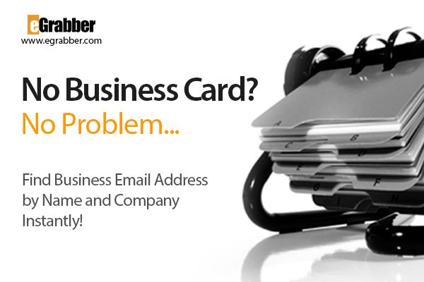 You don't have business cards of your prospects, no problem! Find business email addresses by name and company instantly. #email #emailmarketing #businesscards #emaillist #emaillistbuilding #sales #prospecting #prospects #leads #businessowner #businessemail #corporate #professional #marketingtips