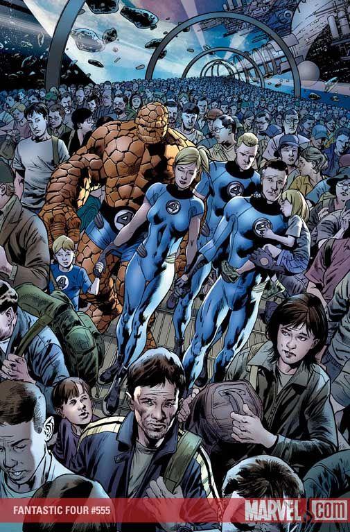 Bryan Hitch - Fantastic Four