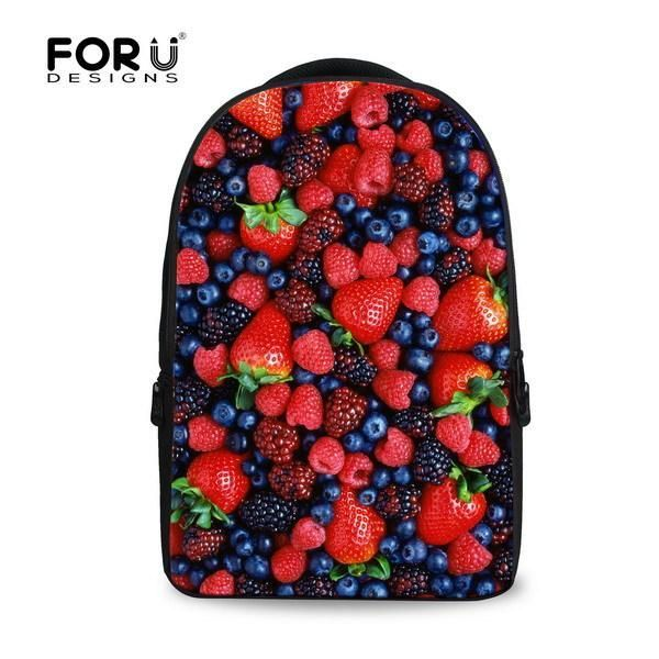 Fashion 15.6 inch Printing Women Travel Backpack 3D Children Painting Backpacks,Large Computer Laptop Backpack for School girls