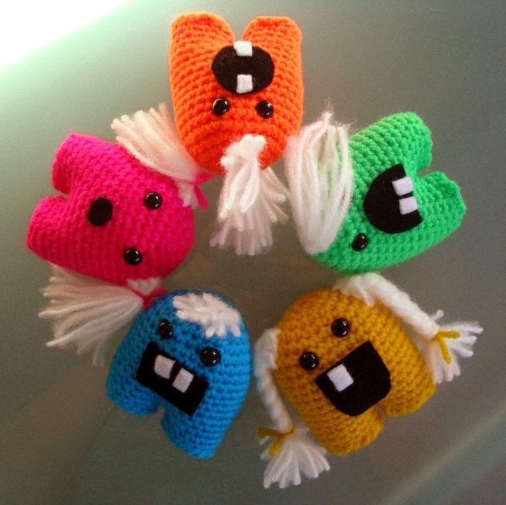 Amigurumi Little Monsters : The 773 best images about Crochet Amigurumi on Pinterest ...