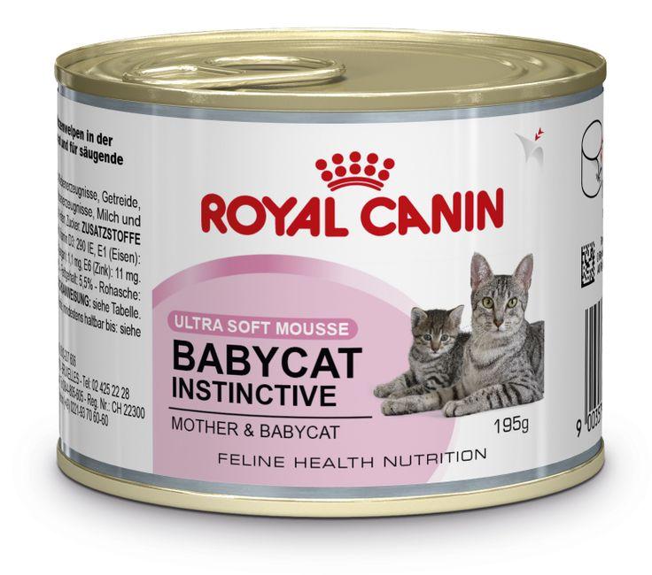 Babycat Instinctive - #Mousse in Schale für #Katzenwelpen in der 1. #Wachstumsphase (Absetzen bis zum 4. Monat) auch für #säugende Katzenmütter geeignet. Die cremige Textur der Mousse von BABYCAT INSTINCTIVE erleichtert Katzenwelpen den Übergang von #Muttermilch zu fester Nahrung.