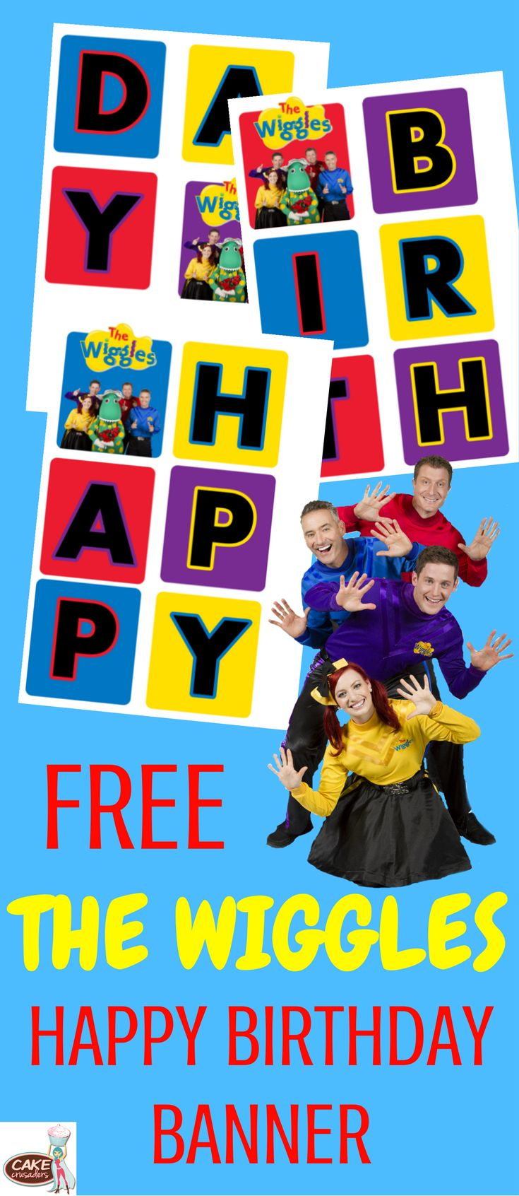 Free Wiggles party printables decorations for your kids birthday party.