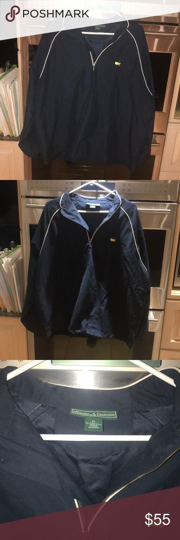 Masters 3/4 zip Golf jacket like new ⛳️⛳️ Like new men's 3/4 zip Masters Collection golf jacket size medium 100% polyester Masters Collection Jackets & Coats