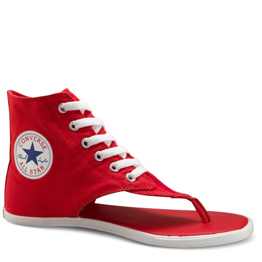 hmmmm not sure about these, love converse and flip flops, but this is strange...