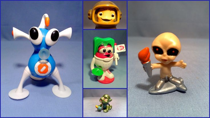 Small Miniature Collectible Figures