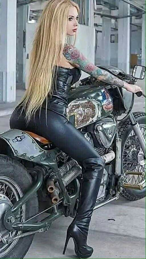 Hardcore biker black girls commit