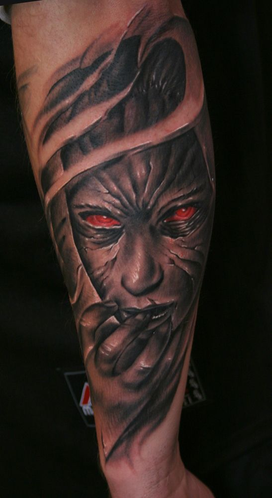 from Eliseo naked zombie chick tattoos