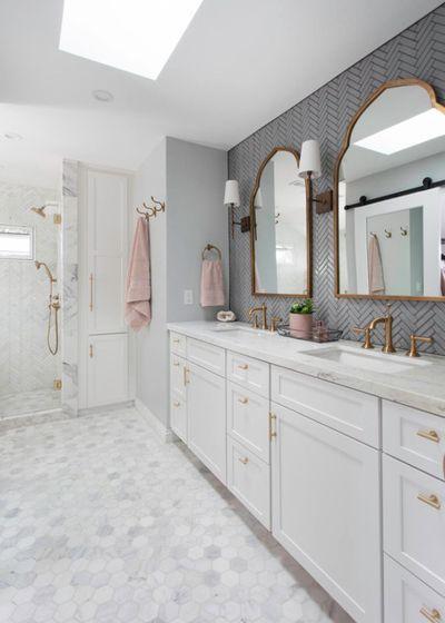 transitional bathroom by signature designs kitchen bath bathroom rh pinterest com