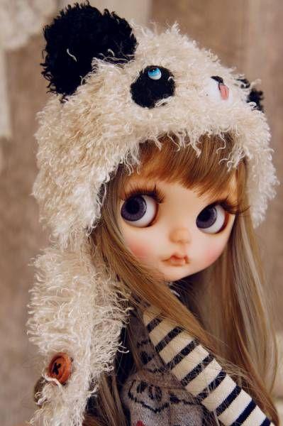 ◆CottonTail × Maicaさま × 黒蜜柑さま × gdtxk799さま ◆ パンダまみれのBabyぱんだちゃん カスタムブライス _画像3