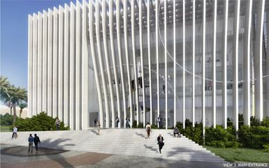 Nanoscience and Nanotechnology Centre by Atelier d'Architecture Michel Remon in Tel Aviv, Israel