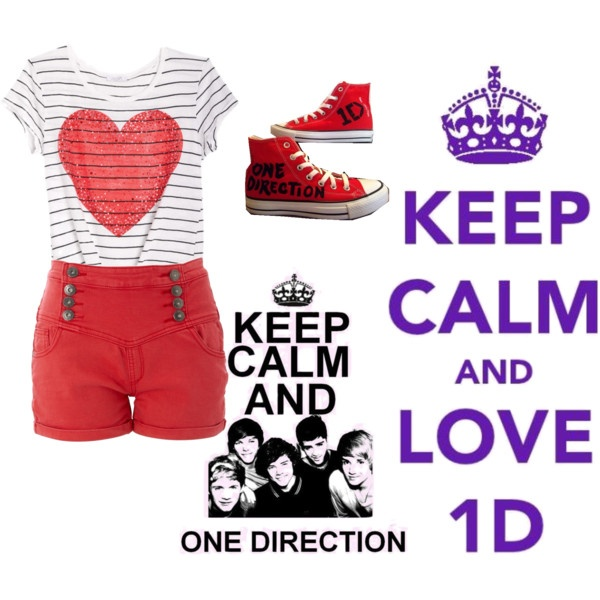 one direction, created by jenny-nicole17 on Polyvore