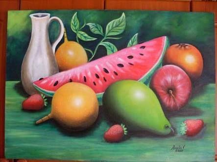 Cuadros De Frutas Para Comedor Para Colorear