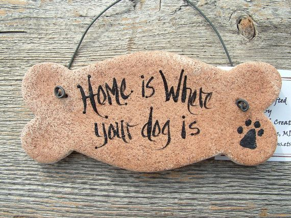 Salt Dough Dog Bone Kitchen Ornament Hanging Ornament. So true!