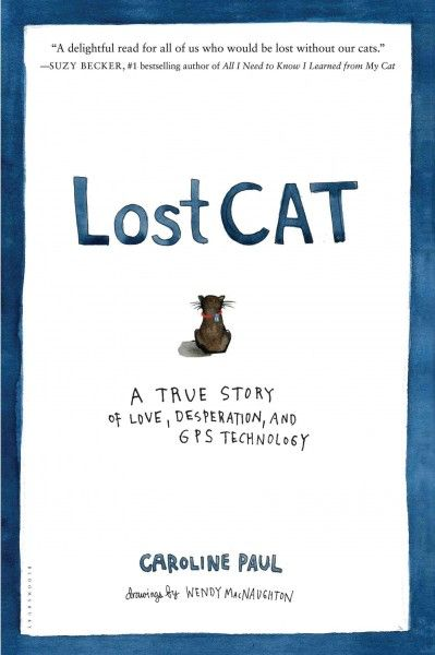 Lost Cat: a True Story of Love, Desperation, and GPS Technology, by Caroline Paul; NONFICTION