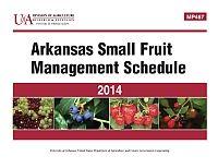 MP467 - Arkansas Small Fruit Management Schedule | Arkansas Extension