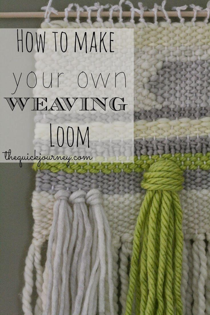DIY | Weaving Loom