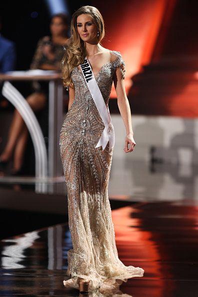 Marthina Brandt Miss Brazil 2015 Evening Gown