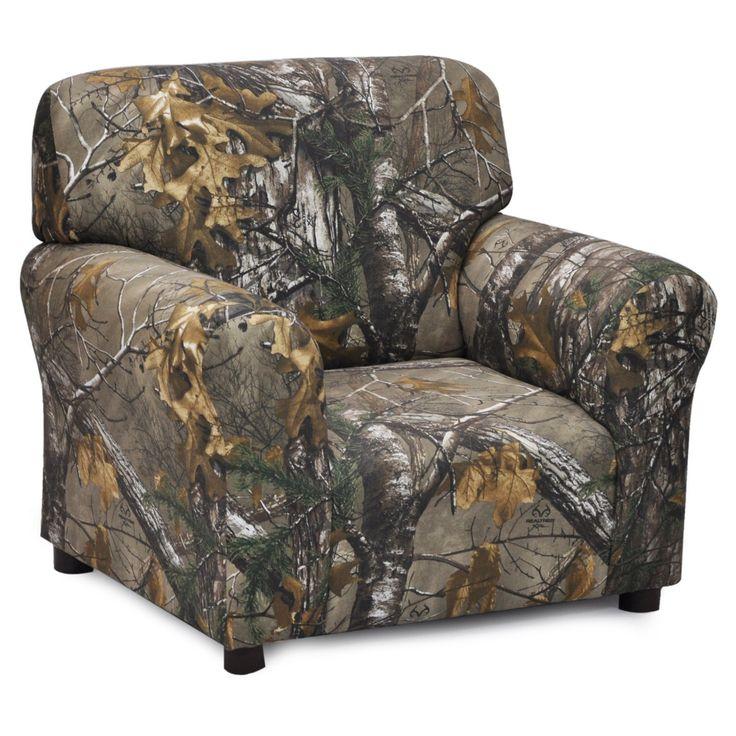 Kidz World Real Tree Camouflage Club Chair - 1961-1-RTX