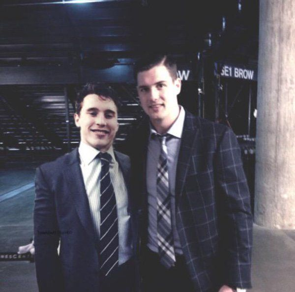 Oh my goodness! It's Brendan Gallagher and Jamie Benn!!!