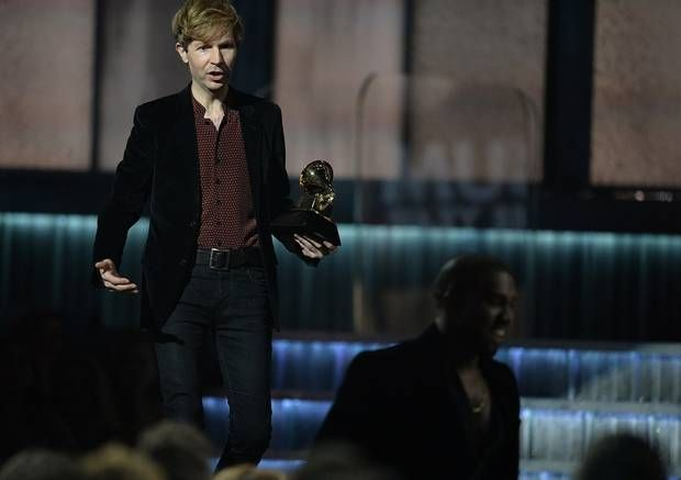 Kanye West has boosted Beck's album sales by more than 1000 per cent http://ind.pn/17aKxp3