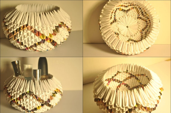 Handmade Origami Bowl for $10 each