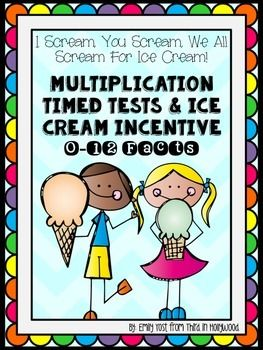 Now includes facts 11's & 12's! (Updated 10/17/15)After trying to get my students to learn all their multiplication facts, I thought of a genius idea!  Create a fun incentive that makes learning them not so grueling!Students are assigned a fact table every Monday and they will be tested on Friday.