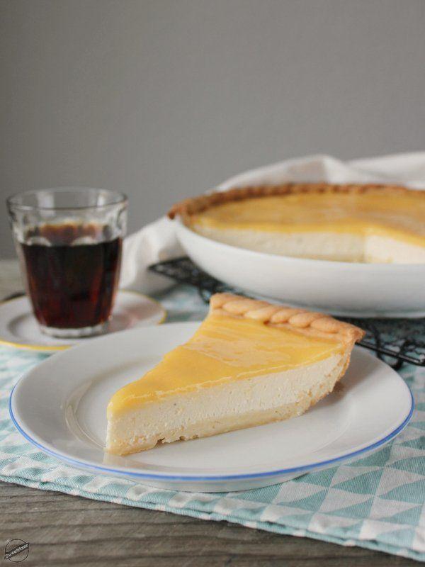 Beleharapsz, és mennyország! – Ricotta pite lemon curd-del | SweetHome