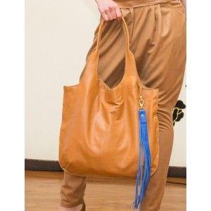 Studio Kropki3 - handbag Camel - PolscyProjektanci.com