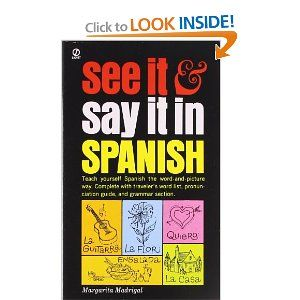 10 best spanish images on pinterest spanish language spain and amazon see it and say it in spanish first step fandeluxe Choice Image