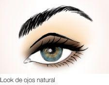 Look de ojos natural