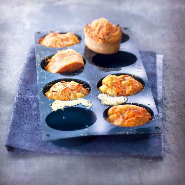 Cake aux carottes et au jambonLire la recette du cake aux carottes et au jambon
