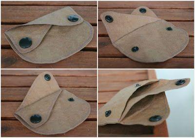 Paperia, kangasta vai nahkaa? SnapPap purse