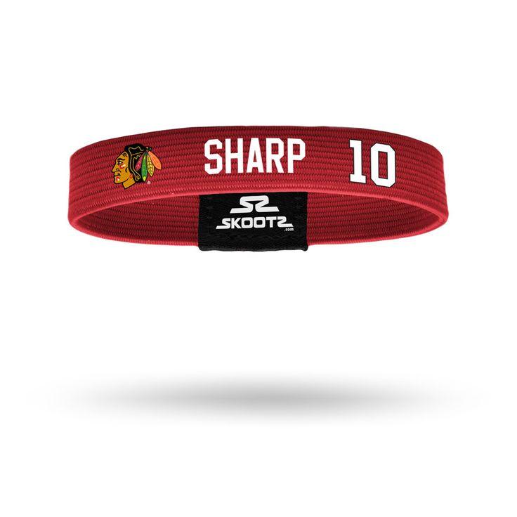 Chicago Blackhawks Patrick Sharp Wristband